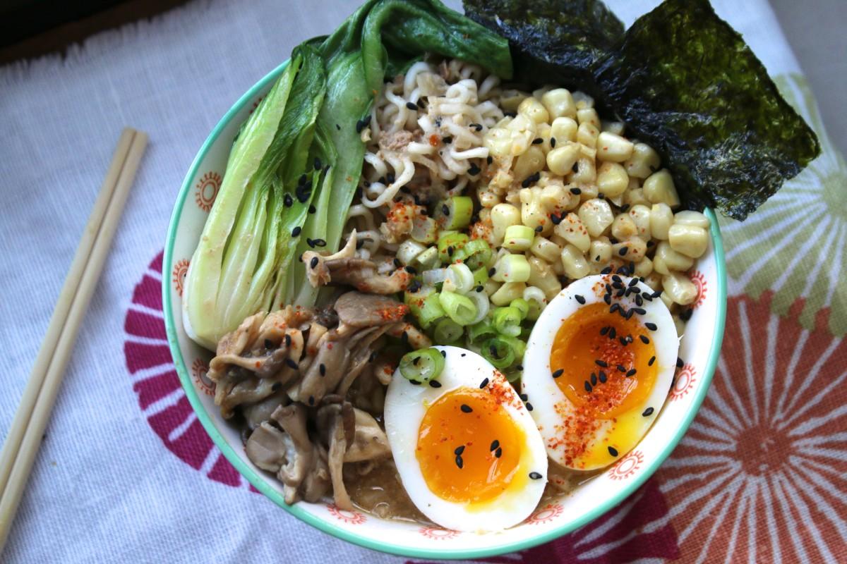 Mushroom Sesame Ramen Umami