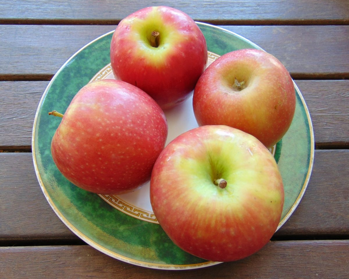 'Rosy Glow' apples